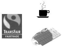 Schokolade und Kaffee aus fairem Einkauf
